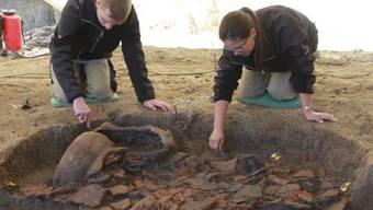 Ausgrabung Gränichen