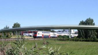 Visualisierung Überführung SBB - Linie «Uster West»