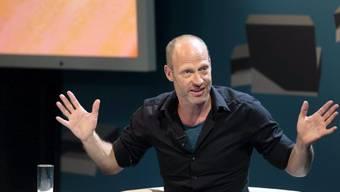 Autor Joachim Meyerhoff begeisterte das Publikum in Klagenfurt