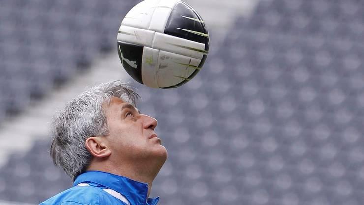 Hat sich und seine Mannschaft noch nicht abgeschrieben: YB-Trainer Petkovic.
