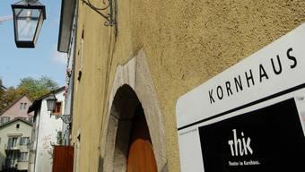 Wo alles begann: Das Kornhaus in der Badener Kronengasse.
