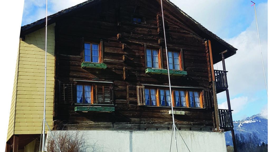 Dieses Bauernhaus aus dem 15. Jahrhundert in Lauerz SZ darf nicht abgerissen werden.