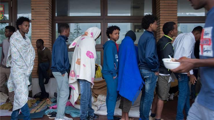 Menschen, die vor Krieg, Verfolgung und Menschenrechtsverletzungen fliehen, sollen mit dem Flüchtlingspakt besser und effizienter unterstützt werden.FRANCESCA AGOSTA/TI-Press/Keystone