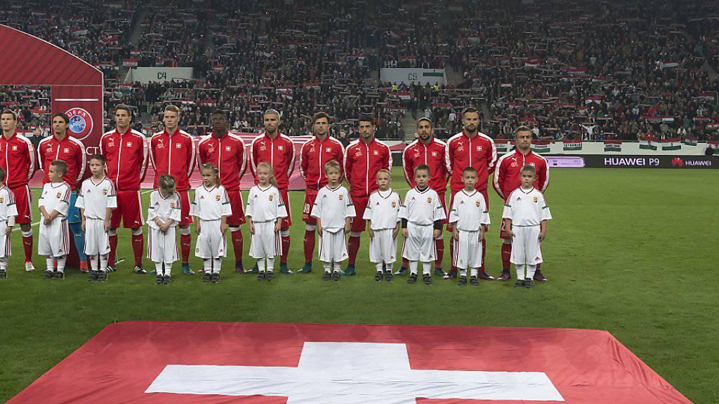 Das Schweizer Team liegt in der Weltrangliste im 14. Rang