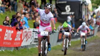 Nathalie Schneitter hofft auf eine Medaille am Heimrennen.