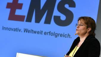 Die Ems-Chemie hat in den ersten sechs Monaten des laufenden Geschäftsjahres sowohl beim Umsatz als auch beim Betriebsgewinn zugelegt. (Archivbild)