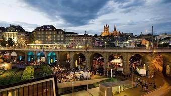 Place de l'Europe in Lausanne (Archiv)