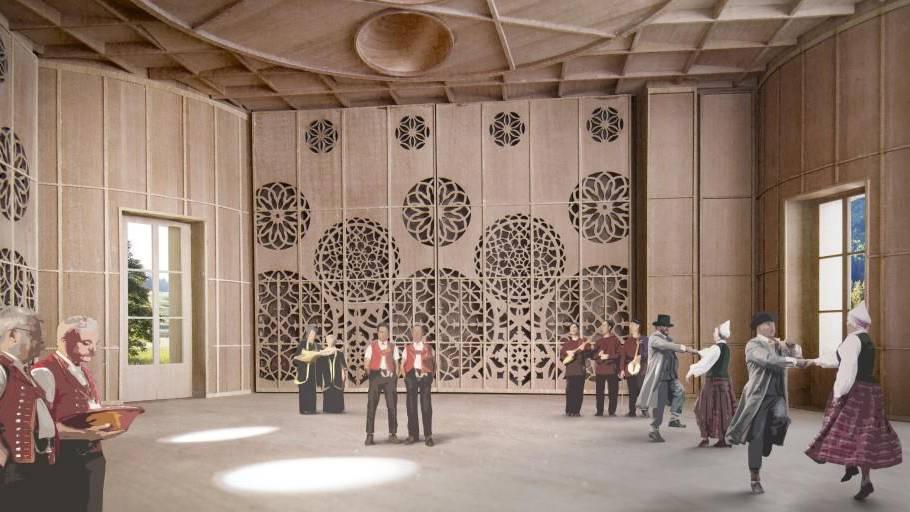 Baugesuch für Klanghaus eingereicht