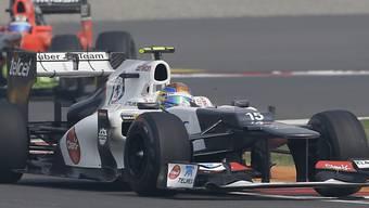 Gutierrez darf für 2013 auf ein Cockpit im Sauber hoffen