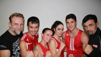 Die Sissacher Box-Crew freut sich auf die Schweizermeisterschaften