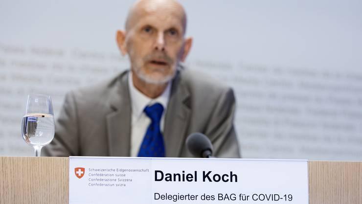 Arbeitet derzeit an einem Fahrplan für die Exit-Strategie: Daniel Koch.