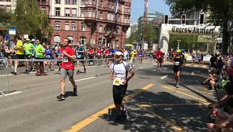 Christa Maag absolviert erfolgreich ihren 10. Zürich Marathon.