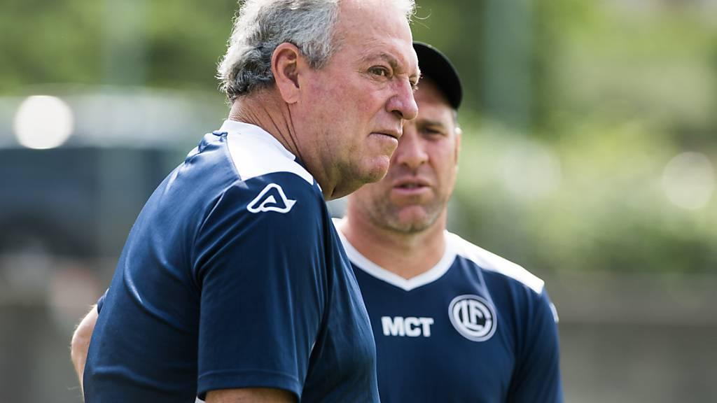 Luganos neuer Trainer Abel Braga bekommt als Verstärkung für die Offensive einen Landsmann