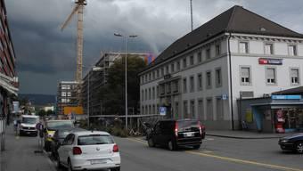 Wie gross wird die Begegnungszone auf der Güterstrasse? (Archiv)