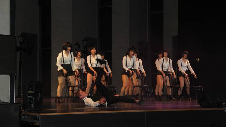 Breakdance-Einlagen durften bei den Firesteps nicht fehlen