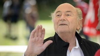 Sepp Blatter: Er hat persönlich unterschrieben