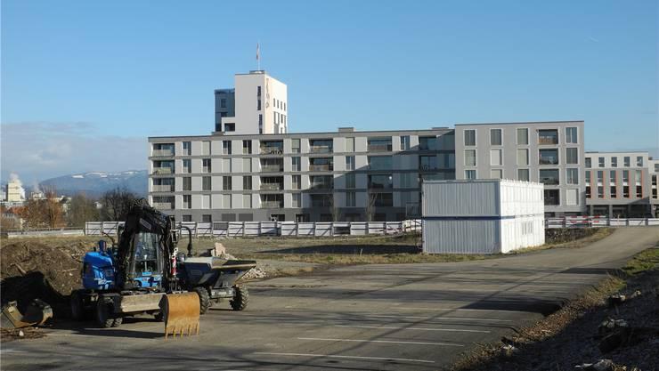 Salmenpark 2: Die Baumaschinen sollen bald ihre Arbeit aufnehmen.