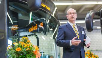Peter Forster ist unter anderem Präsident der Busbetrieb Aarau AG (BBA). FBA
