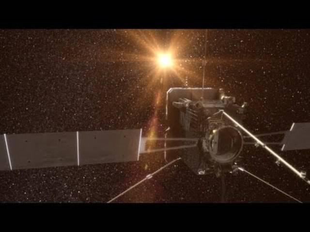 So geht das: Eine Animation der Solar-Orbiter-Mission.