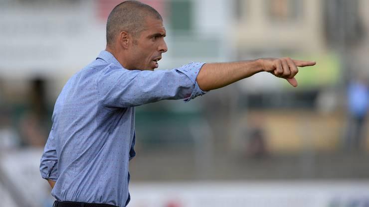 Coach Fabio Celestini gibt die Marschrichtung vor.