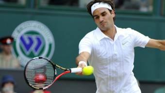 Federer bei seiner Niederlage gegen Berdych im letzten Jahr