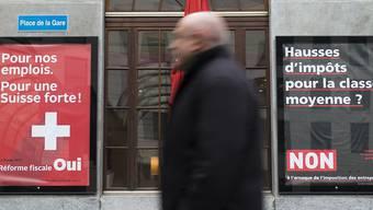 Die Abfederung von 200 Millionen Franken aus der Bundessteuer gab den Ausschlag dafür, dass nun auch Städte und Gemeinden die AHV-Steuervorlage unterstützen.
