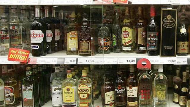 Spirituosen sind noch Sache des Bundes