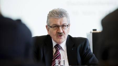 Finanzdirektor Roland Brogli kämpft an vorderster Front gegen die Erbschaftssteuerinitiative