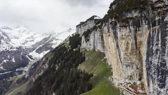 Auf der Wanderung vom Aescher in Richtung Chobel im Kanton Appenzell-Innerrhoden ist am Samstagnachmittag ein Wanderer zu Tode gestürzt.