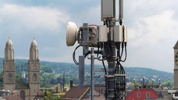 Eine Handy-Antenne in Zürich. (Symbolbild)