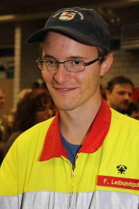 Fabian Leibundgut ist gegen die Fusion und weiss nicht, ob er in die Regiowehr wechseln will. Eher nicht, dafür sei er wohl zu wenig angefressen.