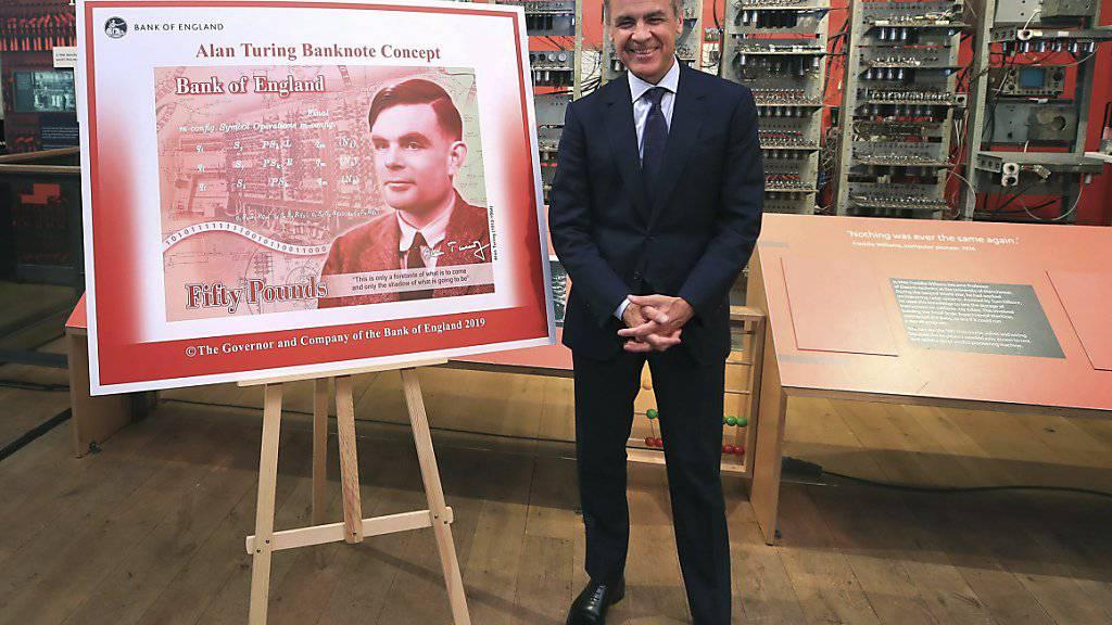 Grossbritannien bekommt neue 50-Pfund-Note