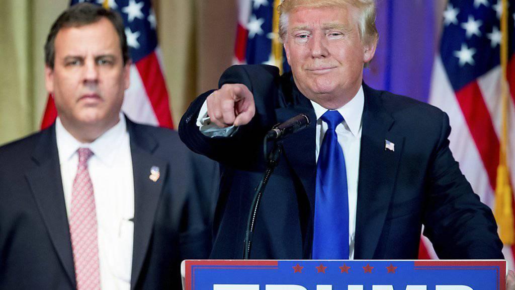 Trump wähnt sich bereits als Sieger der Ausmarchung des republikanischen Präsidentschaftskandidaten. Und schaut schon nach Vorne auf die nächste Kontrahentin Hillary Clinton.