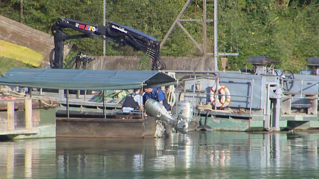 Rheinau: Person nach Sturz in Rhein tot geborgen