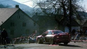 Gefährlicher Sport für Zuschauer: Auto-Rally (Symbolbild)