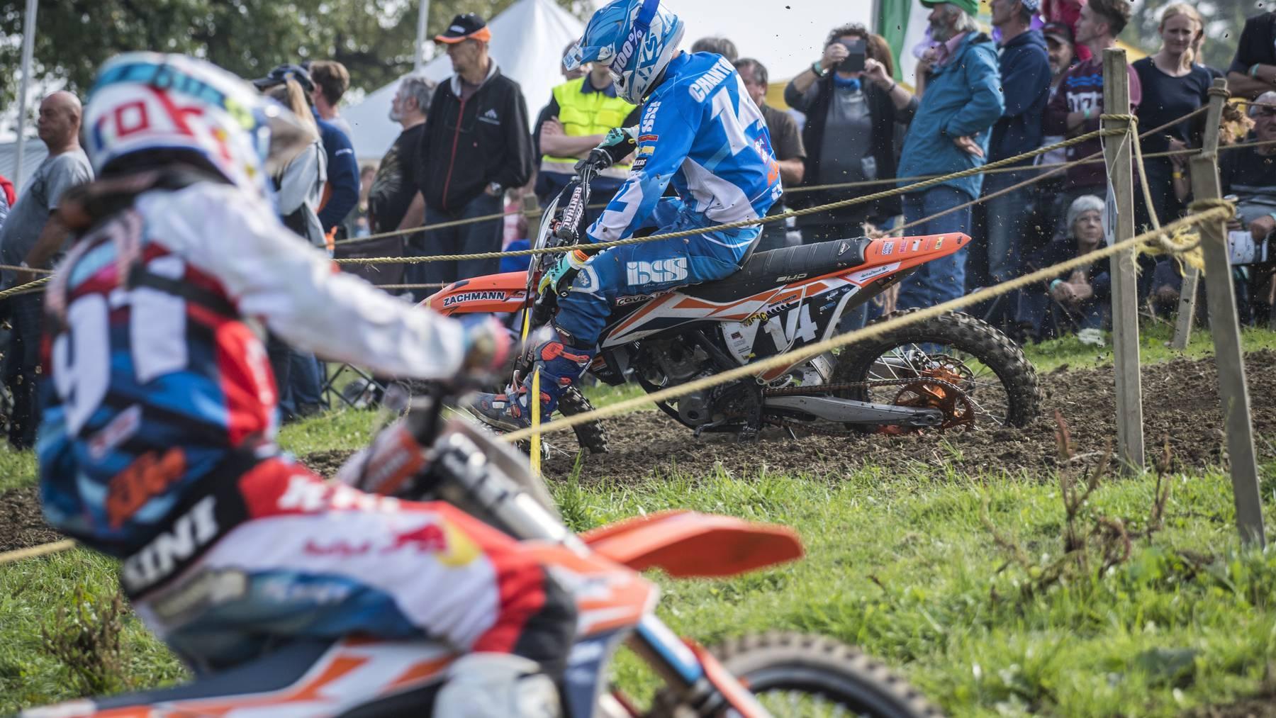 Mindestens fünf schwere Unfälle gab es an jenem Wochenende am Motocross Amriswil.