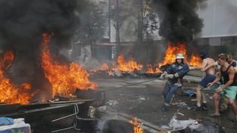 Räumung des Maidan in Kiew am Samstag