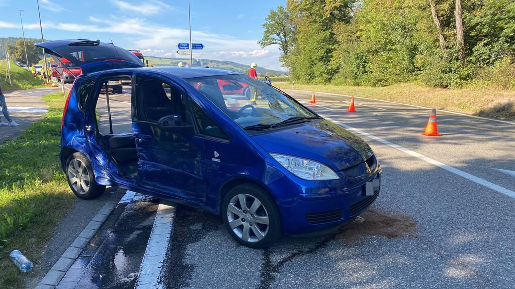 Autolenker missachtete Vortritt und verursacht einen Unfall
