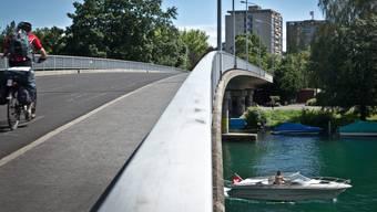 Im Bild: der Nidau-Büren-Kanal