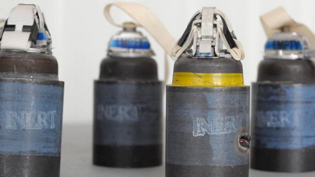 Besonders schädlich: Frankreich trennt sich von seinen Streumunitionsbeständen. (Symbolbild)