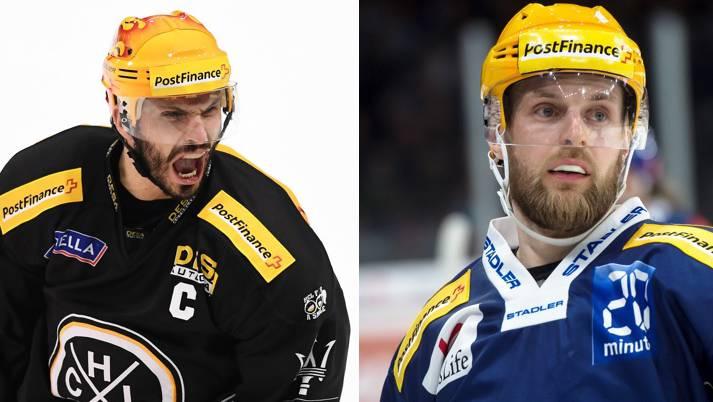 Prägende Figuren: Maxim Lapierre und Frederik Pettersson.
