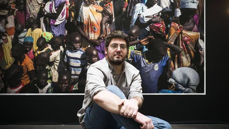 Dominic Nahr reist mit seiner Kamera durch Krisengebiete