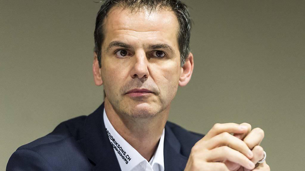 Sven Leuenberger ist seit Mai 2017 beim ZSC als Sportchef tätig
