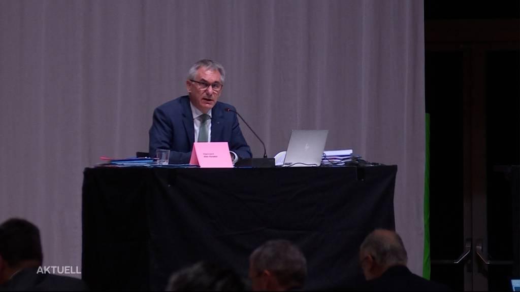 Budgetdebatte ohne Finanzdirektor: Markus Dieth musste operiert werden