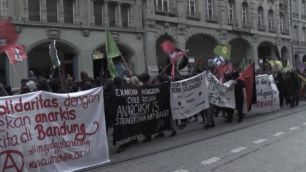 Links-Extreme rufen zu Silvester-Demo in Bern auf