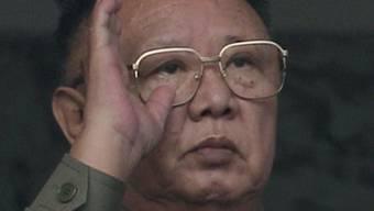 Besucht Russland: Nordkoreas Machthaber Kim Jong Il (Archiv)