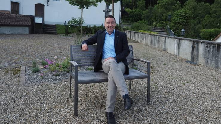 Freut sich über die guten Noten für die Gemeinde Gemeindeammann Bruno Tüscher.