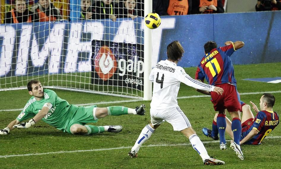 Die fünf wunderbaren Tore des FC Barcelona gegen Real Madrid