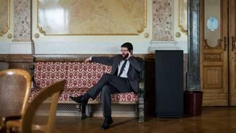 Ein Bild aus früheren Tagen: Yannick Buttet im Bundeshaus.