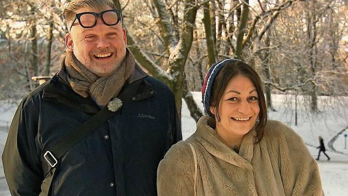 Galaxya Sanchez ist am Montagabend in der Sendung «Adieu Heimat» auf 3+ zu sehen (ab 20.15Uhr). Im Bild mit Freund Ralph in Stockholm.